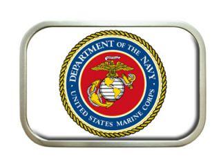 United States Marine Corps Symbol Belt Buckle