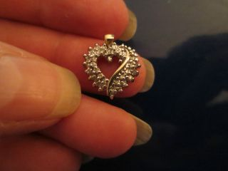HEART SHAPE DIAMOND PENDANT HALF CARAT