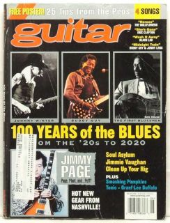100 Years of Blues Johnny Winter Buddy Guy Jimmy Page Very RARE
