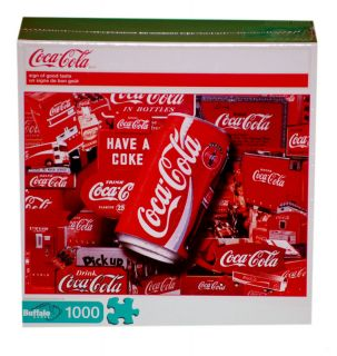 Buffalo Games Coca Cola Sign of Good Taste Jigsaw Puzzl