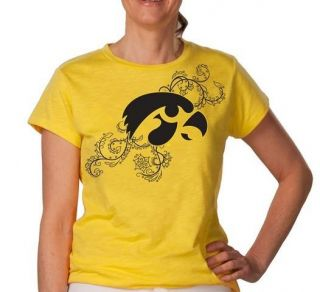 University of Iowa Hawkeyes Womens Short Sleeve T Shirt