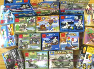 20 Lots Mini Building Blocks Bricks Sets Toys Army Space Pirates