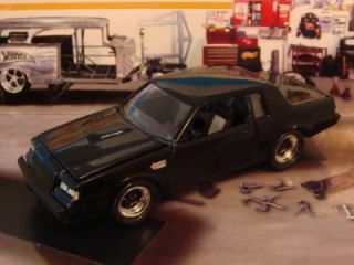 87 Buick Regal Grand National 3 8 SFI Turbo 1 64 Scale Limited Edition