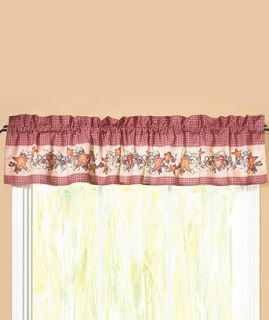 and Stars Country Kitchen Decor Valance Curtain Linda Spivey Brand New