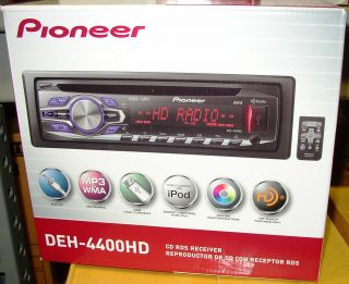 4400HD CD Receiver with Built in HD Radio Tuner New DEH4400HD