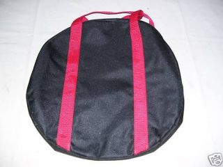 Rope or gear bag rodeo PBR bull riding equipment gear 13 inch round