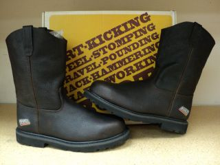 Built By Georgia 10 Inch Brown Pull On Steel Toe Boot Style BG4314