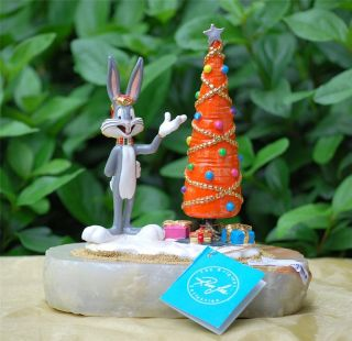 Bugs Bunny Christmas Carrot Ron Lee Sculpture 1993 Signed Limited