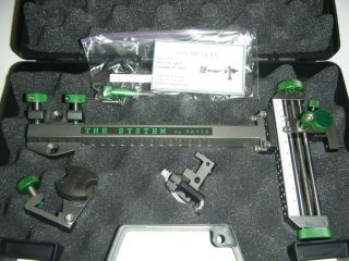 davis target sight pewter g reen knobs the system