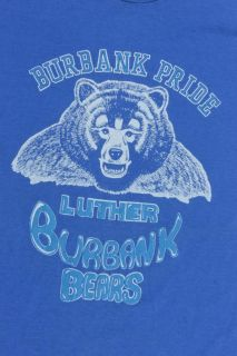 Vintage Luther Burbank Bears Pride T Shirt Size S