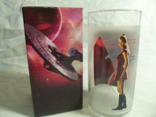 BURGER KING 2008 collectible STAR TREK movie drinking glasses cup
