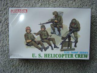 Dragon 1 35 US Helicoper Crew Vienam War