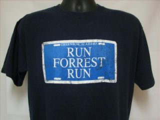 Bubba Gump Shrimp RUN FOREST RUN T Shirt Mens size Large sz L