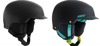 2012 BURTON RED Mutiny Snowboard/Ski Helmet NEW Black or Grayical