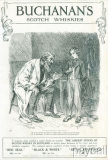 Buchanans Scotch Whisky Magazine Ad 1914