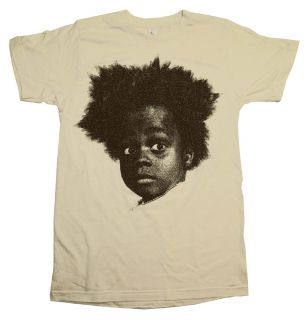 Little Rascals Our Gang Buckwheat Head TV Show T Shirt Tee