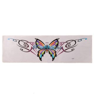 New 2 Pcs Motorcycle Motorcross Decal with Colorful Butterfly Logo S