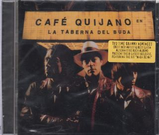 Cafe Quijano CD New La Taberna Del Buda Album Con 12 Canciones