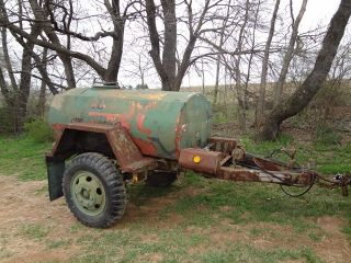 M149 Water Buffalo Tank Military 400 Gallon Trailer