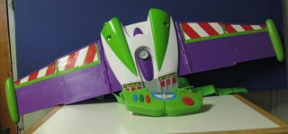 Toy Story Buzz Lightyear Electronic Rocket Pack Wings   Halloween