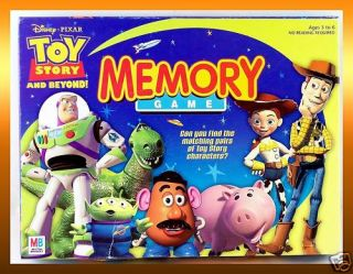 Disney Toy Story Beyond Memory Match Game Woody Buzz