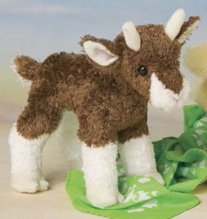 buffy baby goat 6 by douglas cuddle toys measurements 5 00 h x 6 00 l