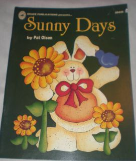 Sunny Days Pat Olson Painting Book Ideas Farm Animals
