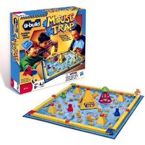 U BUILD MOUSE TRAP GAME NEW