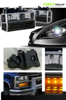 LED Signal Lights 94 02 Chevy C K Pickup Suburban Tahoe Blazer