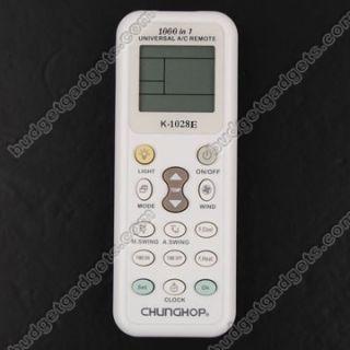 Chunghop® Mini LCD Universal A C Remote Control