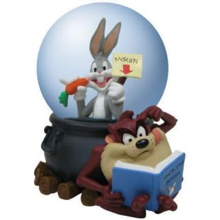 Looney Tunes Bugs Bunny Taz Moron 85 mm Water Snow Globe
