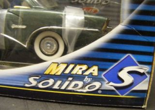 MIRA SOLIDOS 1955 BUICK CENTURY COUPE 118 SCALE DIE CAST CAR NIB