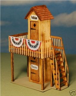 GC Laser Building Kit HO Scale 2 Story Out House 1282