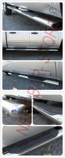 2012 2013 Dodge RAM 2500 3500 Crew Cab 4 Oval Nerf Bars Side Steps