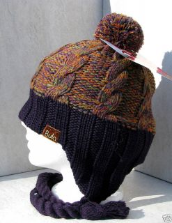 Bula Purple Electra Stereohead iPod  Ear Flap Hat