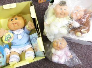 CABBAGE PATCH KIDS CELEBRATION SNUGGLY BABIES NEWBORN 25TH ANNIV DOLLS