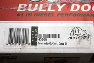 Bully Dog Outlook Combo Pack Tuner for 01 05 Chevy GM Duramax Diesel