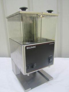 Bunn LPG 2E Low Profile Commercial Coffee Grinder Dual