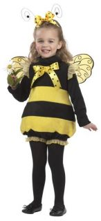 Bumble Bee Toddler Costume Honey Child Hornet Insect