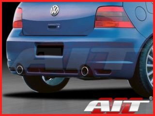 FRP R32 Style Rear BUMPER Kit Auto Body Volkswagen Golf 99 04