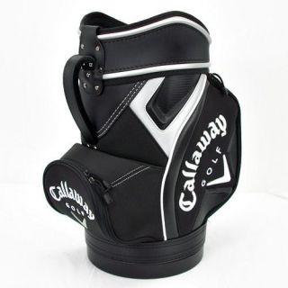 Callaway Den Caddy Mini Staff Bag Black White Silver New