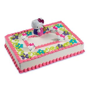 Hello Kitty Cake Decoration Topper Party Supplies New