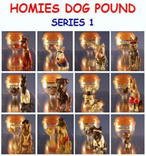 12 New Homies Dog Pound Set 1 Mini Cake Topper Figures