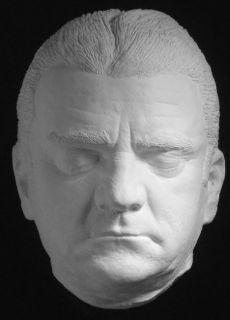 James Cagney Life Mask Gangster Mafia Prison Hollywood