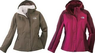 North Face Womens Inlux Insulated Jacket Coat New