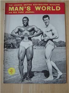 Mans World Bodybuilding Muscle Mag Roy Callander 9 67