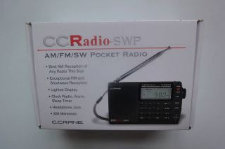 Crane CC Radio SWP Shortwave Am AF SW Pocket Radio