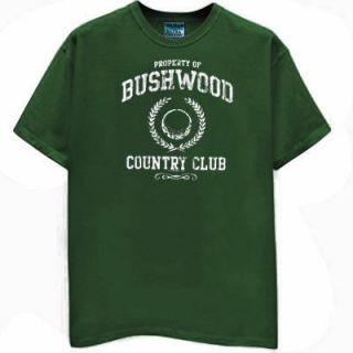 Bushwood Country Club Golf T Shirt Shoes Hat Glove Grn
