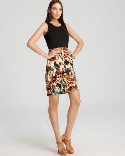 Calvin Klein New Black Metallic Sleeveless Wear to Work Dress Petites