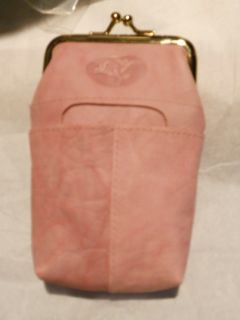 The Best Buxton Leather Cigarette Case with 3 Pocket Pink